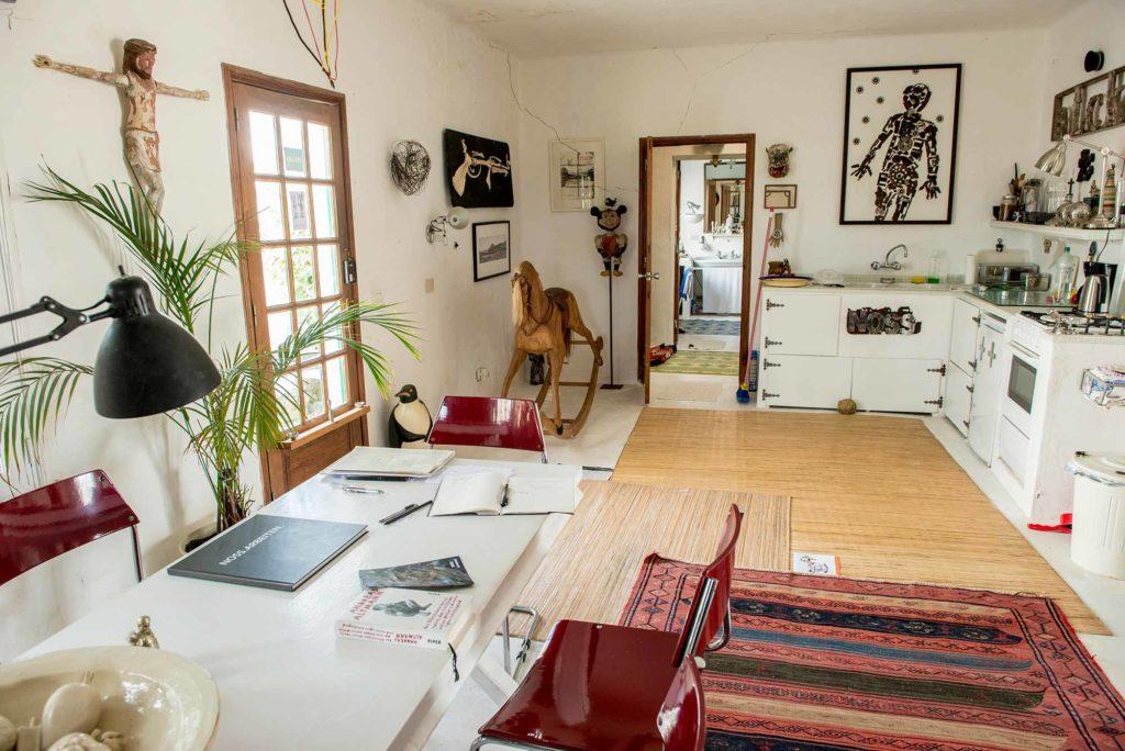 Dieter Noss house, Las Breñas