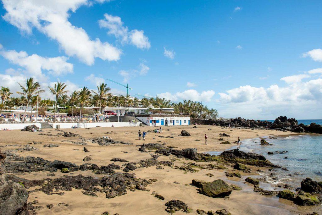 Spiaggia di Puerto del Carmen, Lanzarote