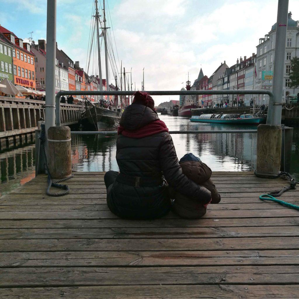 Nyhavn , Copenaghen - Mamma ho preso l'aereo