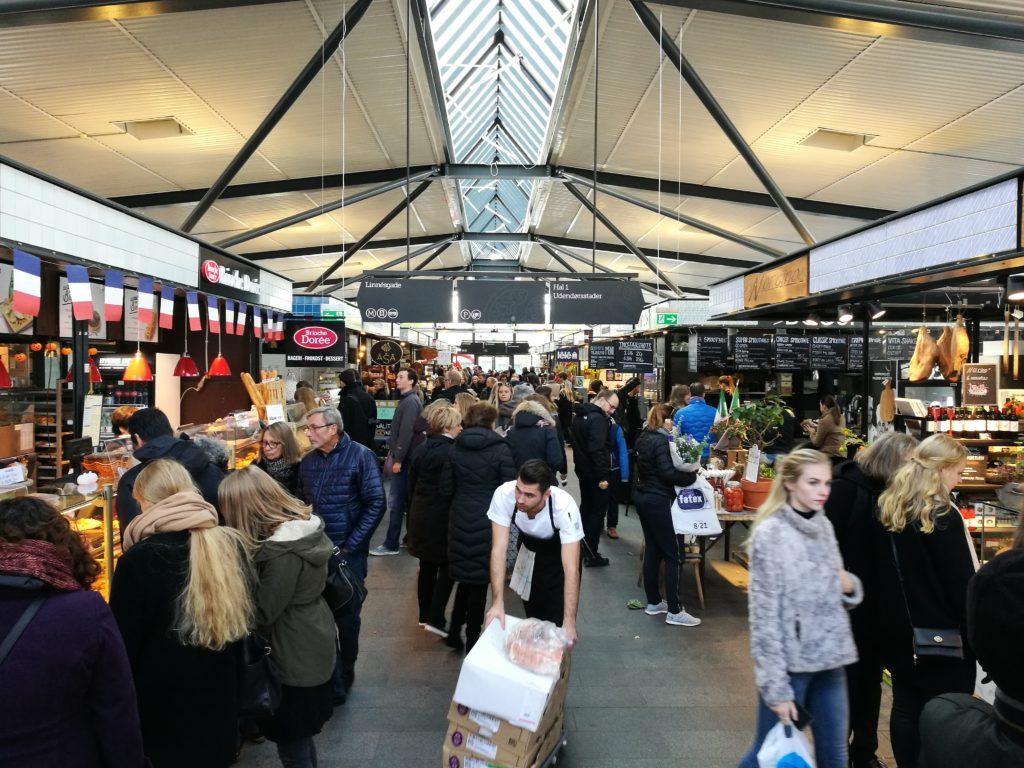 Food market di Torvehallerne
