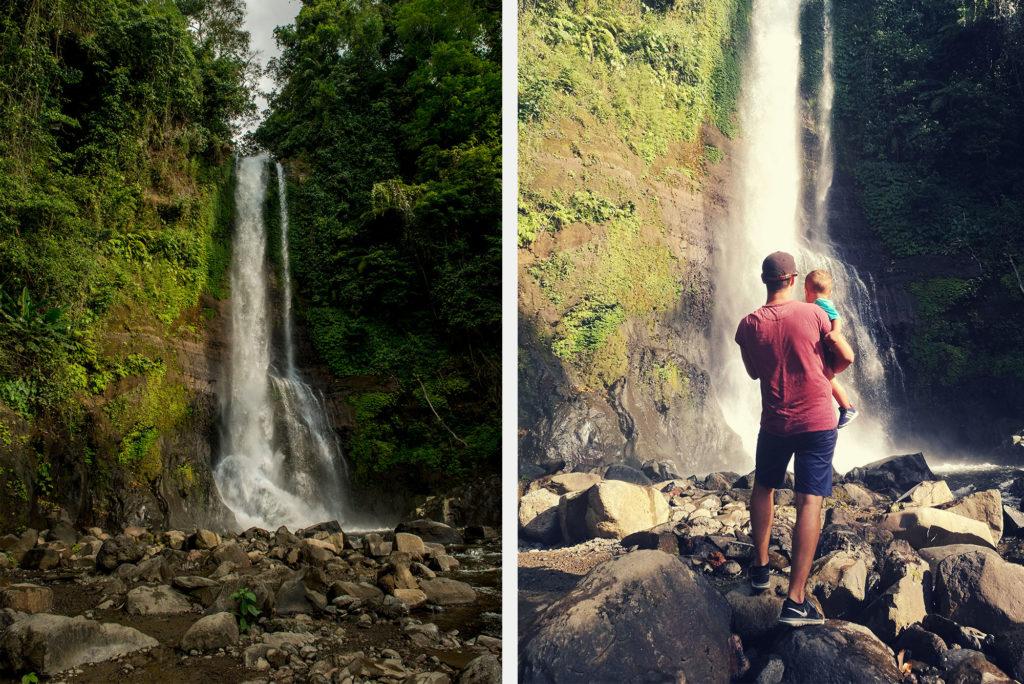Gitgit waterfall, Singaraja
