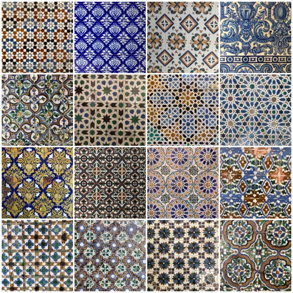 Azulejo Real Alcázar - Siviglia