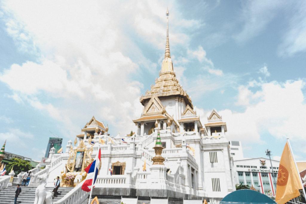 Wat Traimit a Bangkok | Mamma ho preso l'aereo
