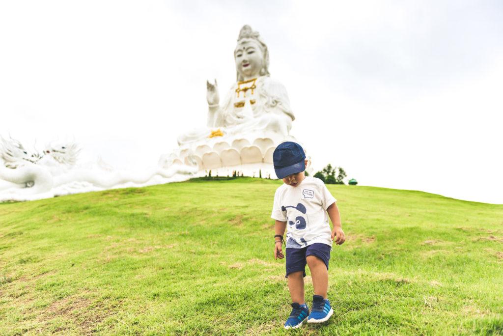 Wat Huay Pla Kung (Big Buddha), Chiang Rai, Thailandia