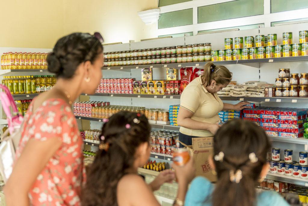 Piccolo supermercato a Santa Clara