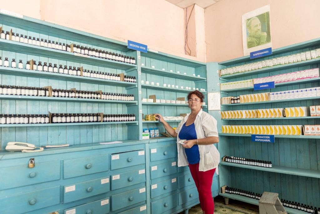 Farmacia a Manicaragua, municipio di Santa Clara