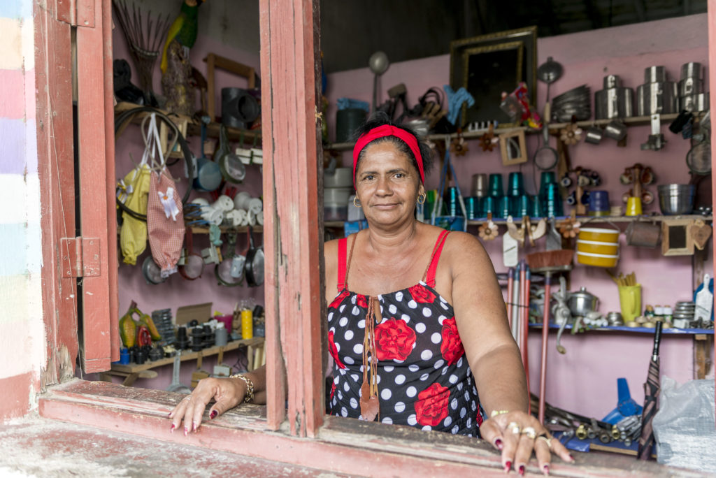 Piccolo negozio a Manicaragua, municipio di Santa Clara