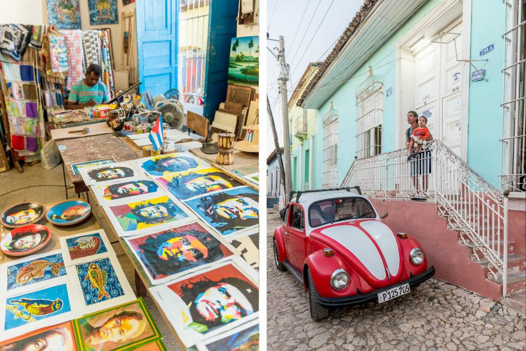 Artisti tra le strade di Trinidad