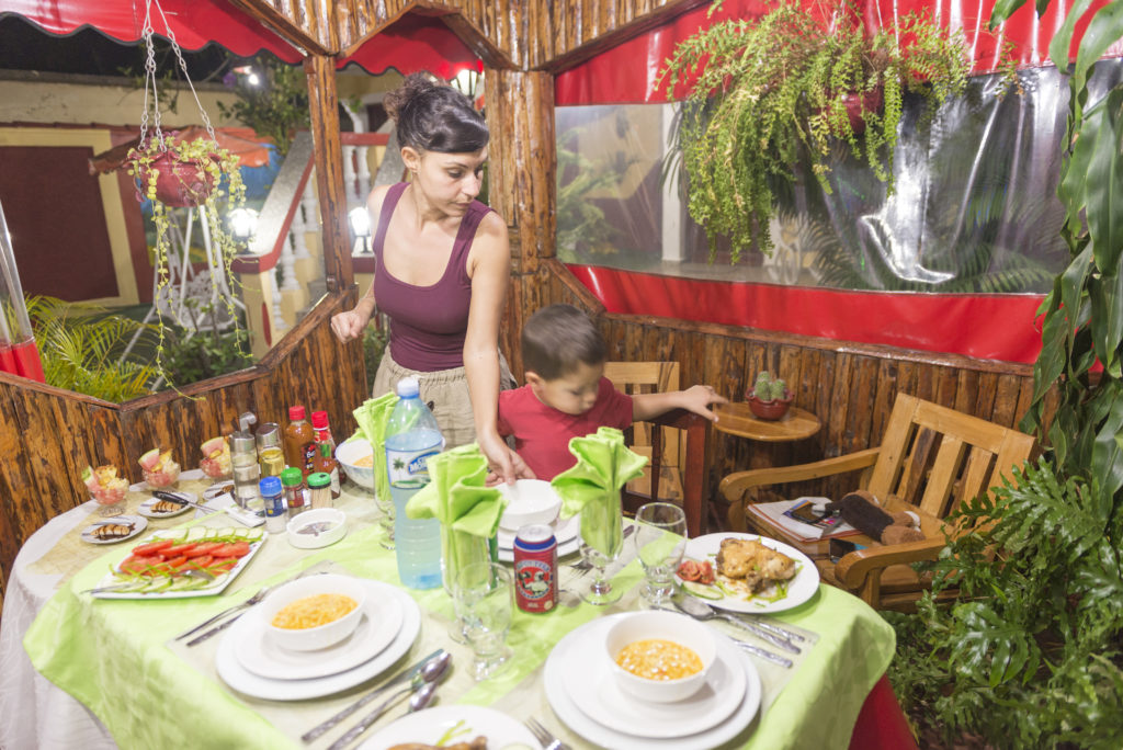 Cena a Casa Margarita, Viñales