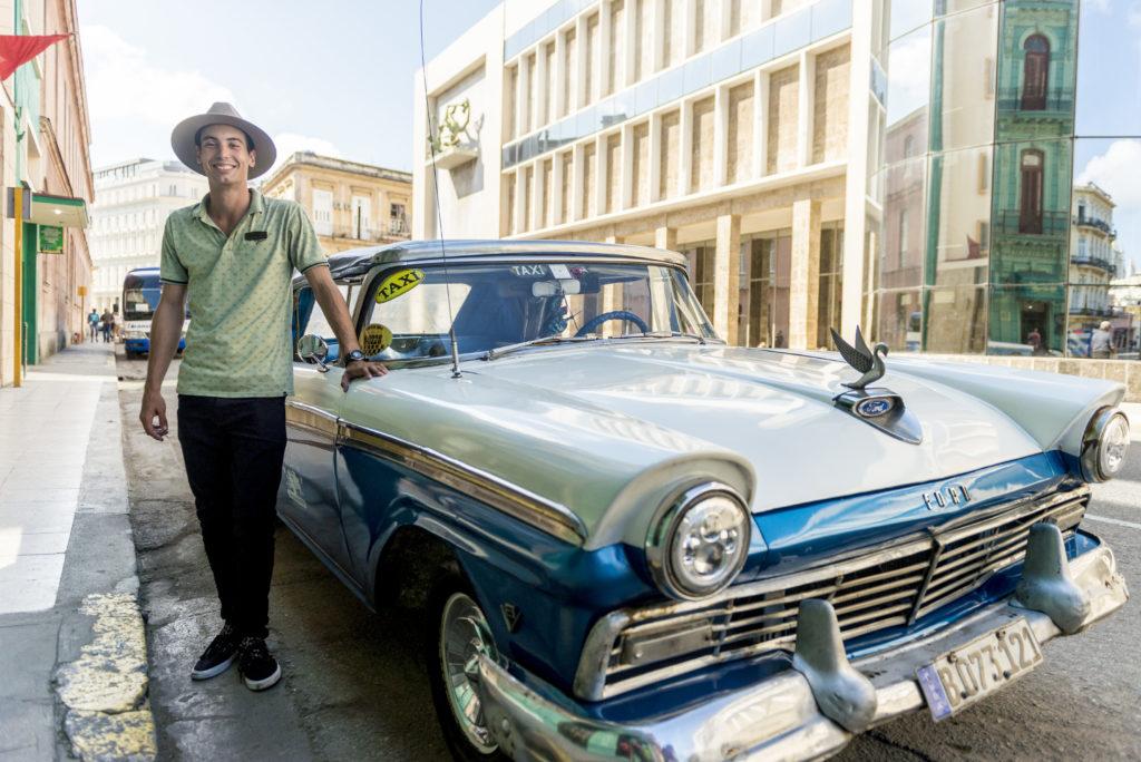 Josè Carlos Garcìa Bohigas, autista a La Havana