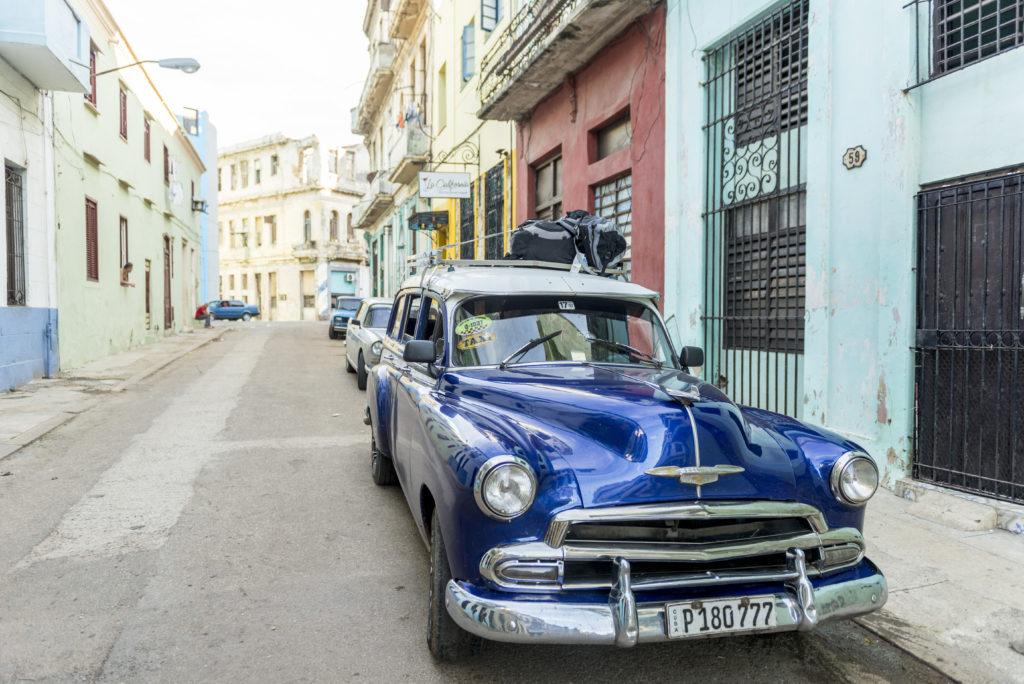 Il nostro taxi collettivo da La Havana a Vinales